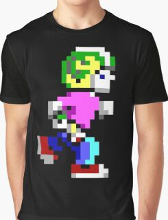 Commander Keen Pixel Style- Retro DOS game fan items! Graphic T-Shirt