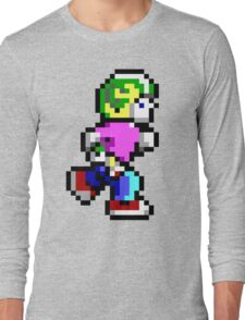 Commander Keen Pixel Style- Retro DOS game fan items! Long Sleeve T-Shirt