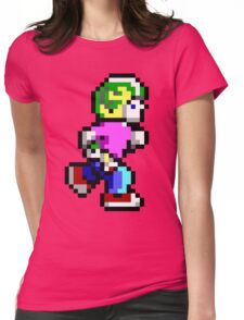 Commander Keen Pixel Style- Retro DOS game fan items! Womens Fitted T-Shirt