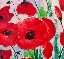 Happy poppy by AnjaliVaidya