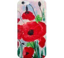 Happy poppy iPhone Case/Skin
