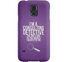 The Only Consulting Detective Samsung Galaxy Case/Skin