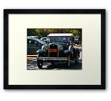 Going Back to the 1930's Framed Print