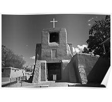 Santa Fe - San Miguel Chapel Poster