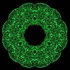 Celtic Knot Kaleidoscope by Den McKervey