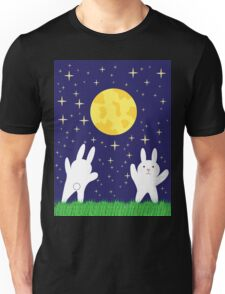 Moon Bunnies Unisex T-Shirt