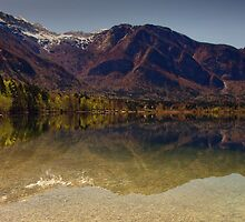 First light Lake Bohinj by pixsellpix