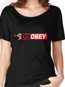 DISOBEY 2 Women's Relaxed Fit T-Shirt