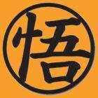 King Kai Symbol Goku Style Top by Kazziix