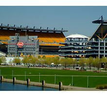 Lets go Steelers Photographic Print