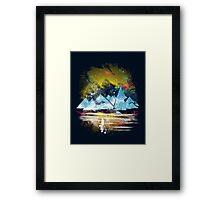 iceland islands Framed Print