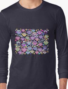owls & blossoms Long Sleeve T-Shirt
