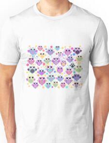 owls & blossoms Unisex T-Shirt