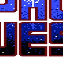 Space Quest Pixel Style - Retro DOS game fan items Sticker