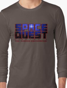 Space Quest Pixel Style - Retro DOS game fan items Long Sleeve T-Shirt