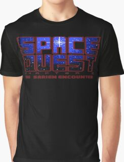 Space Quest Pixel Style - Retro DOS game fan items Graphic T-Shirt