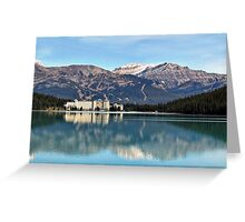Lake Louise Canada Greeting Card