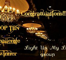Banner for Challenge - You are a Top Ten Winner by Jane Neill-Hancock