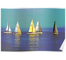 We Are Sailing Poster