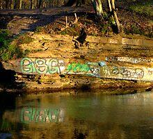 Graffiti art? by Chris  Hayworth