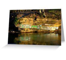 Graffiti art? Greeting Card