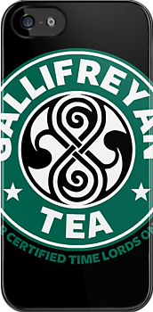Gallifreyan tea by bomdesignz