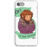 Cardigan Dwarf at Your Service iPhone Case/Skin