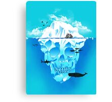 Cold Cruisings and Icy Endings Canvas Print
