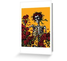 My Bloody Valentine Skeleton Greeting Card