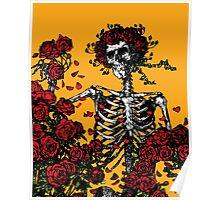 My Bloody Valentine Skeleton Poster