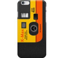 Disposable Camera - K-Max iPhone Case/Skin