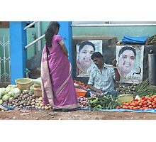 Street sales with low overheads ! Photographic Print