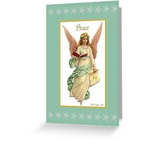 And an Angel appeared ... Greeting Card