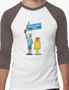 Community Time! Men's Baseball ¾ T-Shirt