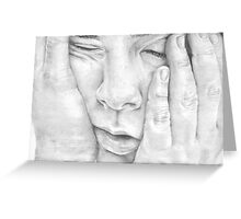 So Tired..! Greeting Card