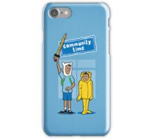 Community Time! iPhone Case/Skin