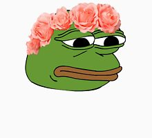 Flower Crown Pepe Frog T-Shirt