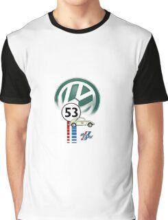 53 THE LOVE BUG CAR VW beatle Graphic T-Shirt