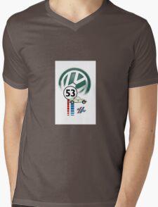 Herbie 53 THE LOVE BUG CAR VW iphone cased Mens V-Neck T-Shirt