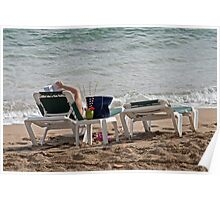 Beach Lie Lows Poster