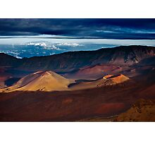 Haleakala Crater Photographic Print
