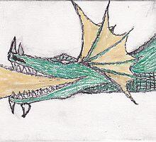 Dragon 08 by Raymond Nichols