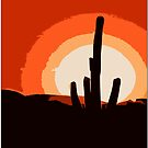 Southwest Sunrise by Chet  King