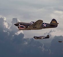 P40 - Flying Tigers by Pat Speirs