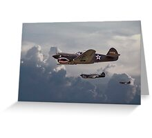 P40 - Flying Tigers Greeting Card