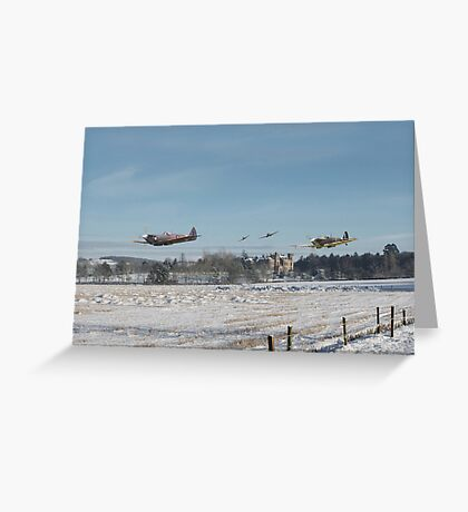 Spitfire - Home is the Hunter Greeting Card