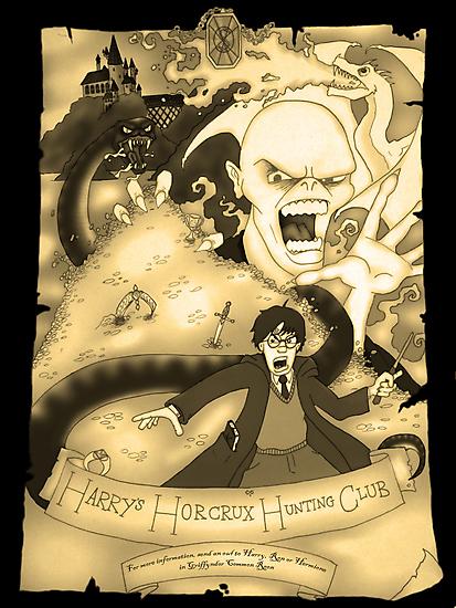Harry's Horcrux Hunting Club by DamoGeekboy