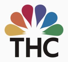 NBC logo parody for stoners by Mark Kelly
