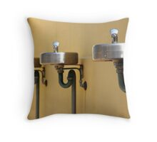 Not-so-red bubblers Throw Pillow