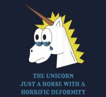 DEFORMED UNICORN by thedisillusion